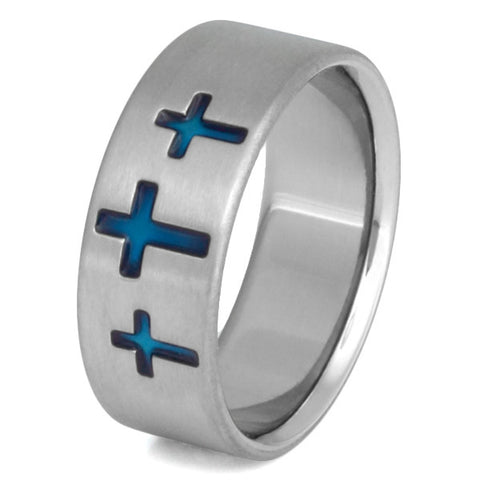 titanium christian rings cr5 Titanium Wedding and Engagement Rings