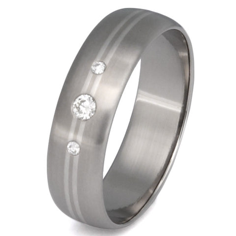 titanium diamond wedding ring s22 Titanium Wedding and Engagement Rings