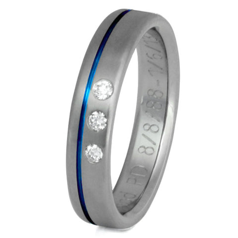 titanium diamond rings s34 Titanium Wedding and Engagement Rings