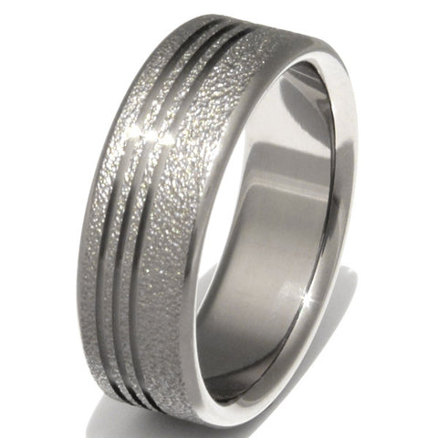 the chill frost titanium wedding ring f1 Titanium Wedding and Engagement Rings