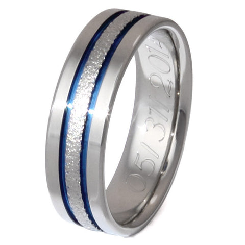 big city frost titanium wedding ring f12 Titanium Wedding and Engagement Rings