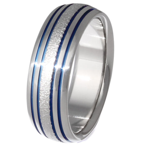 the flow frost titanium wedding ring f15 Titanium Wedding and Engagement Rings