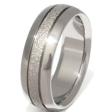 the splendid frost titanium wedding ring f27 Titanium Wedding and Engagement Rings