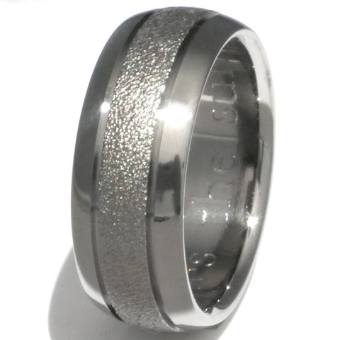 the splash titanium frost wedding ring f3 Titanium Wedding and Engagement Rings