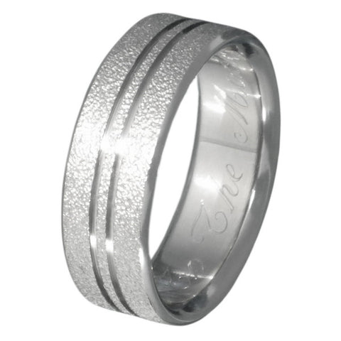 the shimmer frost titanium wedding ring f9 Titanium Wedding and Engagement Rings