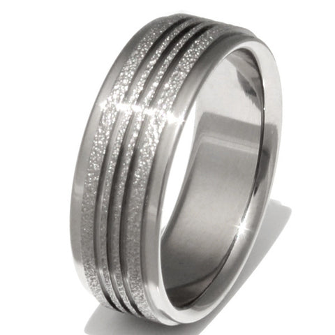 synergy frost titanium wedding ring f10 Titanium Wedding and Engagement Rings