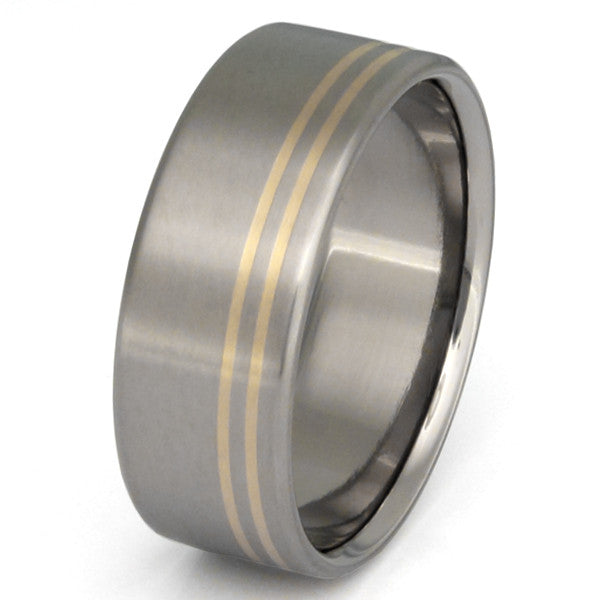 Titanium Gold Ring G2 Wedding And Engagement Rings