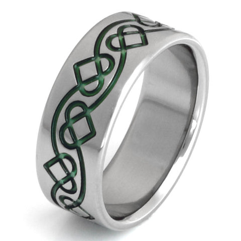 titanium celtic ring ck28 Titanium Wedding and Engagement Rings