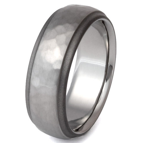 sable titanium ring sa25 Titanium Wedding and Engagement Rings
