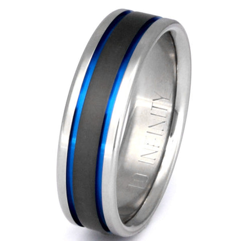 sable titanium ring sa12 Titanium Wedding and Engagement Rings