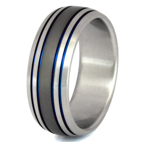 sable titanium ring sa13 Titanium Wedding and Engagement Rings