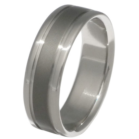 sable titanium ring sa9 Titanium Wedding and Engagement Rings