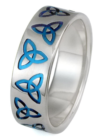 titanium celtic ring ck26 Titanium Wedding and Engagement Rings