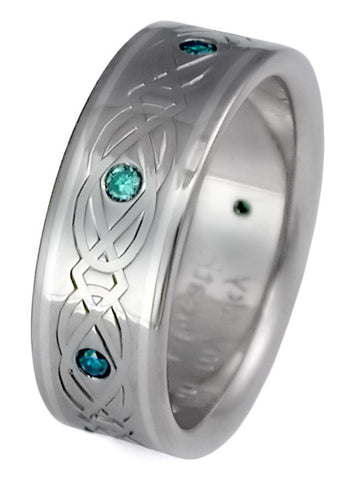 titanium irish celtic wedding ring ck67 Titanium Wedding and Engagement Rings