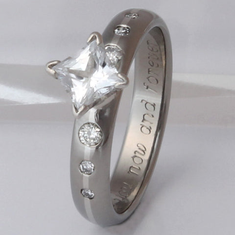 titanium solitaire engagement rings e14
