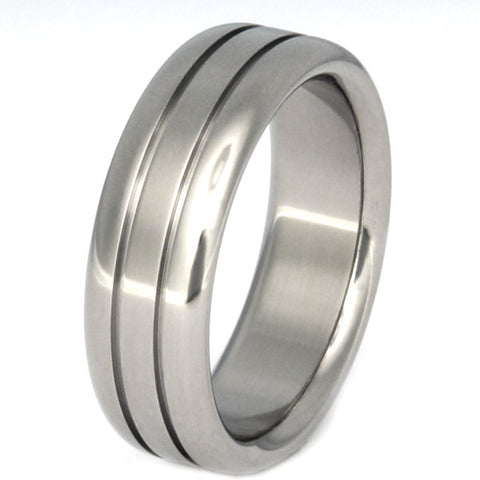 titanium ring serene n19 Titanium Wedding and Engagement Rings