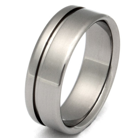 titanium ring cascade n2 Titanium Wedding and Engagement Rings