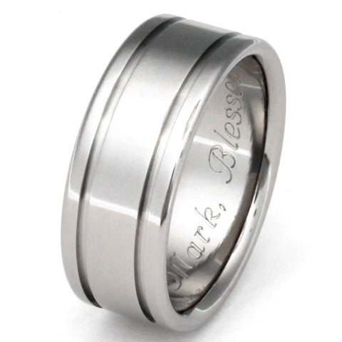 titanium ring abyss replica n5 Titanium Wedding and Engagement Rings
