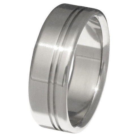 titanium ring hideaway n8 Titanium Wedding and Engagement Rings