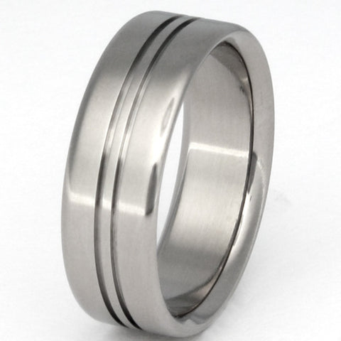 titanium ring spirit n9 Titanium Wedding and Engagement Rings