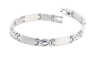 Woman's Titanium Bracelet the eternity