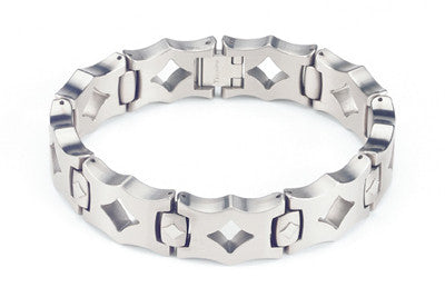 the maderna men s titanium bracelet