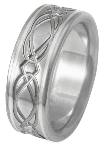 titanium irish celtic wedding rings ck22 Titanium Wedding and Engagement Rings
