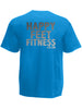 Happy Feet Fitness Mens T Shirt