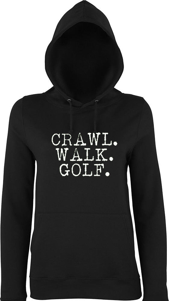 Crawl Walk Golf Kids Hoodie