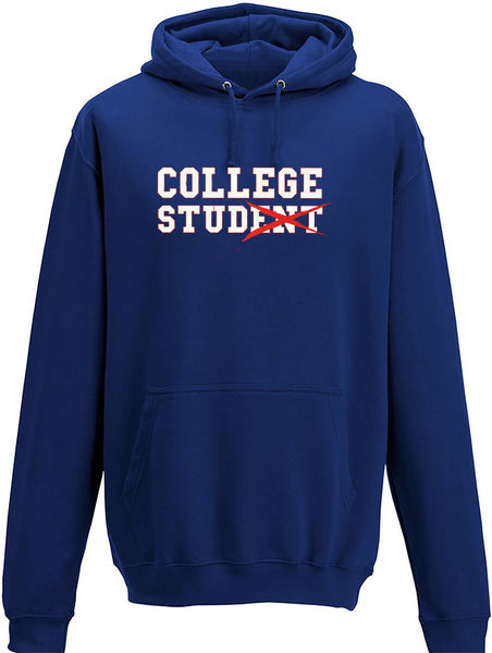 College Stud (ent) Adults Hoodie