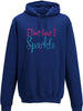 I don't sweat I sparkle Adults Hoodie