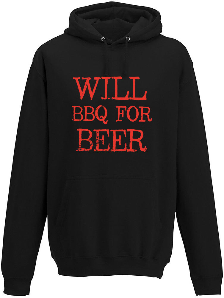 Will BBQ for Beer Adults Hoodie