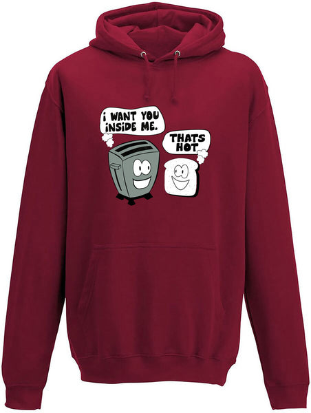 I want you inside me Adults Hoodie