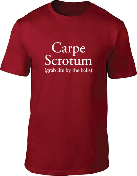 Carpe Scrotum Mens T-Shirt