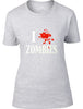 I splat Zombies Ladies T-Shirt