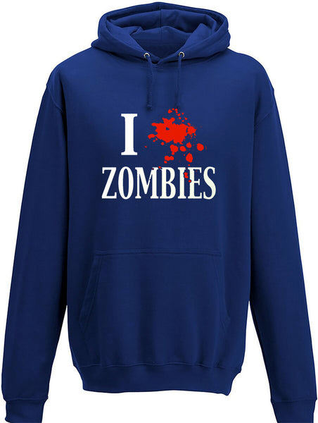 I splat Zombies Adults Hoodie