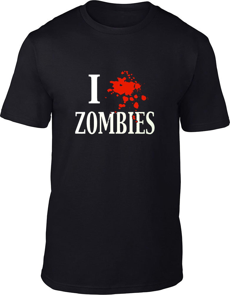 I splat Zombies Mens T-Shirt