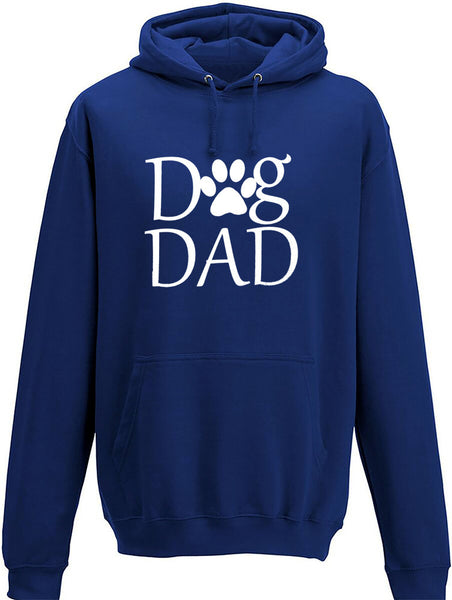 Dog dad with paw Adults Hoodie