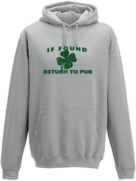 If found return to pub Adults Hoodie