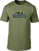 I'm a boss Mens T-Shirt