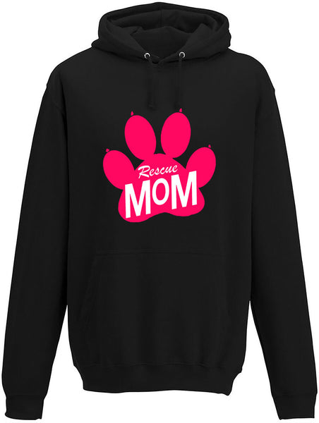 Rescue Mom Adults Hoodie