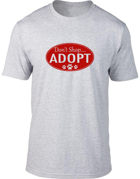 Don't shop Adopt Mens T-Shirt