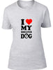 I love my shelter dog Ladies T-Shirt
