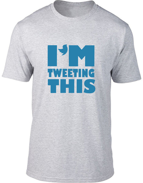 I'm tweeting this Mens T-Shirt