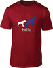 Hello Mens T-Shirt