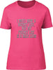 I don't have bucket list I have a fucket list Ladies T-Shirt