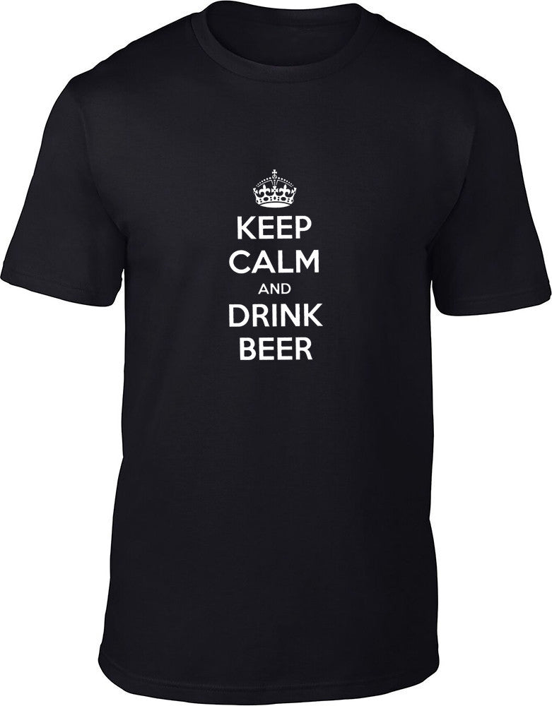 Keep Calm and Drink Beer Mens T-Shirt