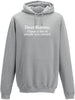 Dear Karma I have a list of people you missed Adults Hoodie