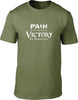 Pain is Temporary Victory is Forever Mens T-Shirt
