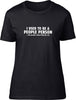 I used to be a people person Ladies T-Shirt